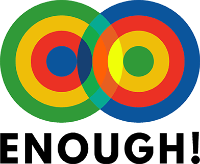 Enough! is an informal collective of activists in Scotland who have come together to take action on challenging our dominant economic system. We believe that inequality, oppression, injustice, power and ecological breakdown are all connected by the same story: